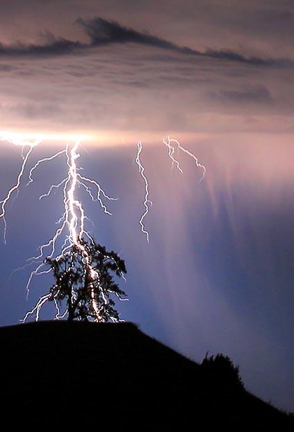 beware of lightning when it strikes bushwalking leadership sa