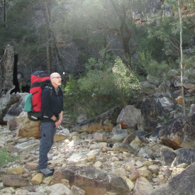 Gordon Lehmann, trainer and on board of Bushwalking Leadership SA