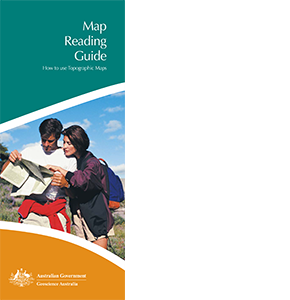 Natmap - Map Reading Guide, how to use topographic maps, 2005, cover
